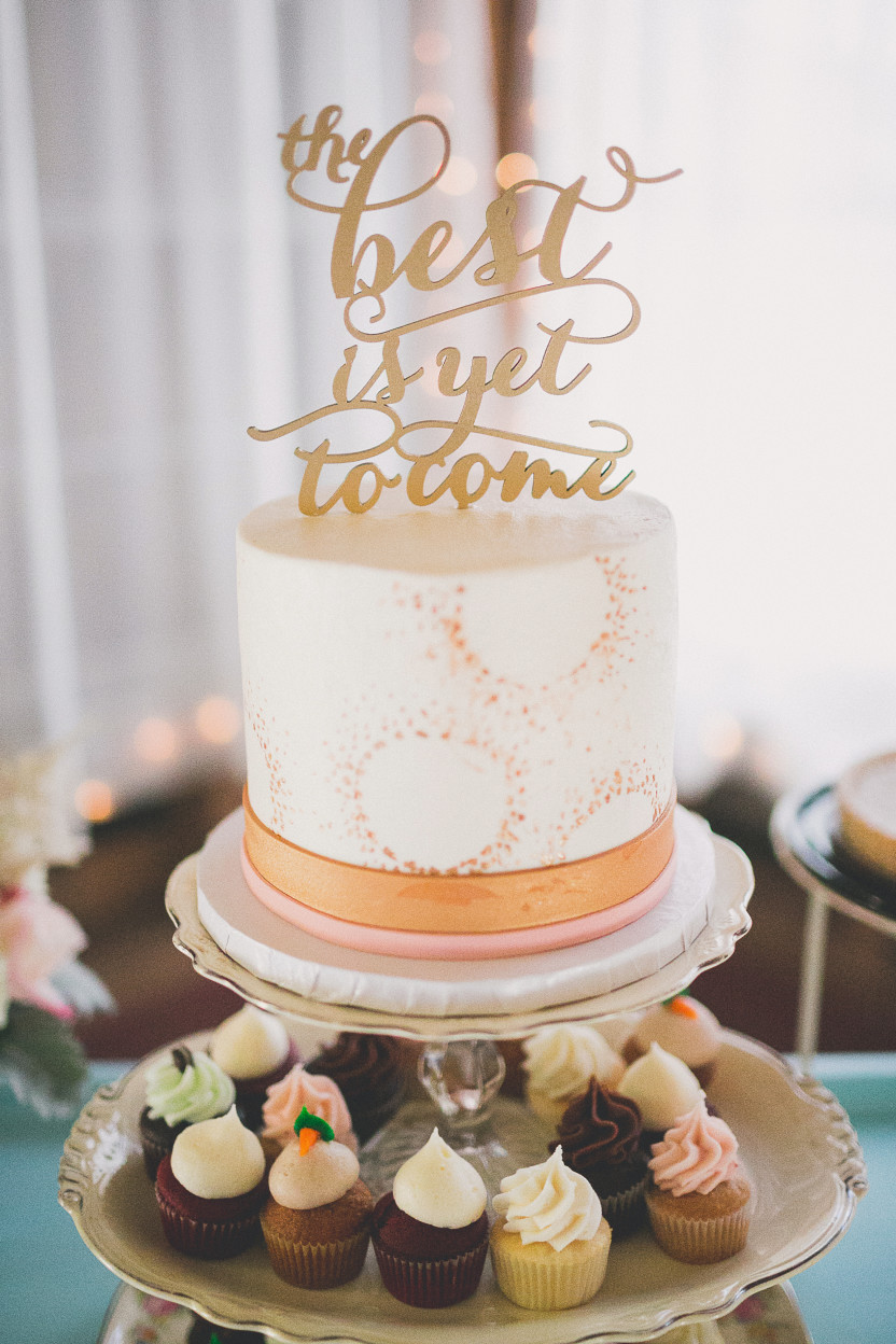 A Birthday Cake Is No Ordinary Wedding Chicks Haley Camerons Southern Soiree